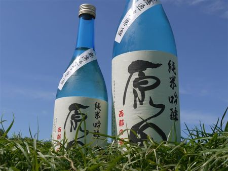 原田 純米吟醸 西都の雫 無濾過生原酒 1800ml